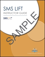 SMS Lift Instructor Guide Cover